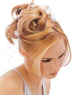 Elige con acierto tu peinado de novia somos bellas for Recogidos altos para novias