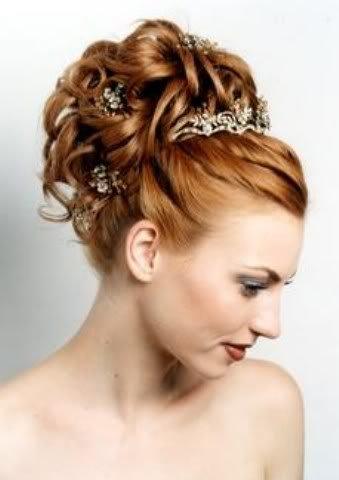Elige con acierto tu peinado de novia somos bellas - Recogidos altos para bodas ...