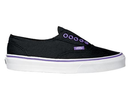zapatillas vans chicas negras