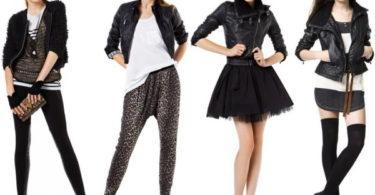 chaqueta de cuero de Zara