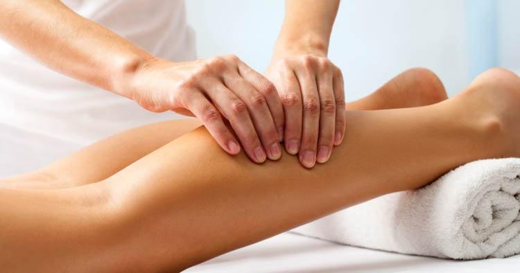 drenaje linfático pierna hinchadas