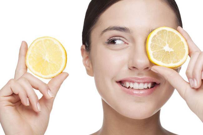 limón para las ojeras