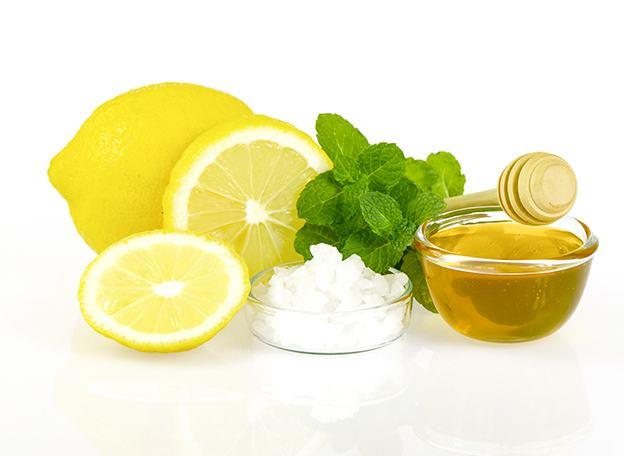 mascarilla exfoliante con limón, miel y azúcar