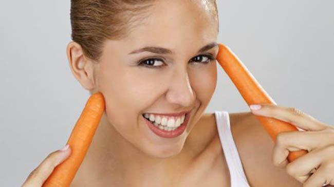 zanahoria para la piel