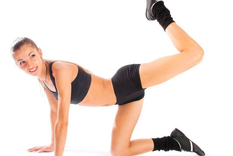 ejercicios de glúteos en colchoneta