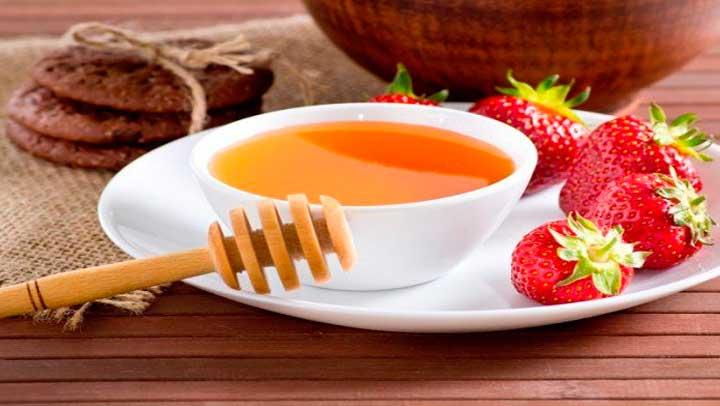 mascarilla de fresas y miel