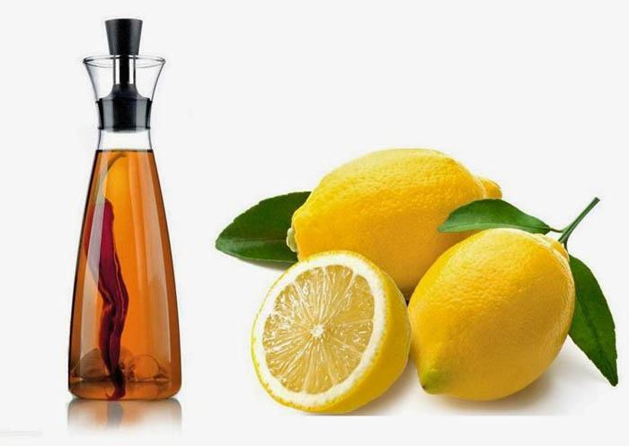 limón y vinagre