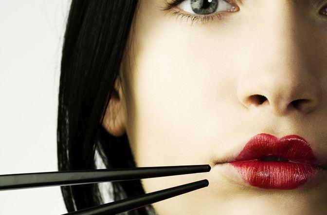 maquillaje oriental