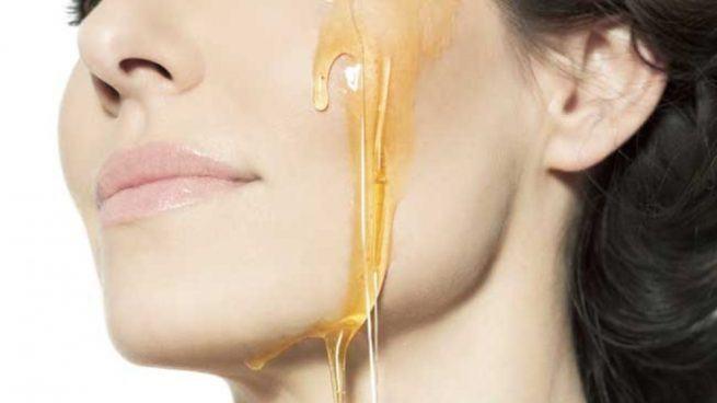 miel para nutrir la piel
