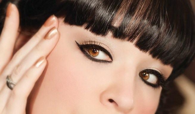 ojos estilo oriental