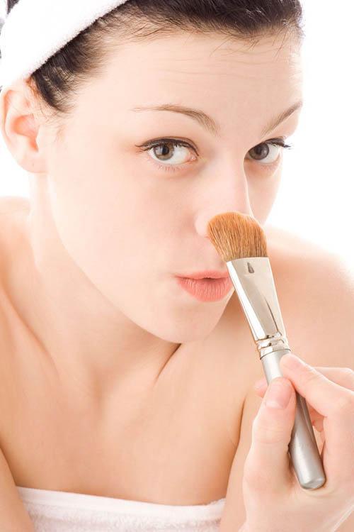 corregir nariz con maquillaje