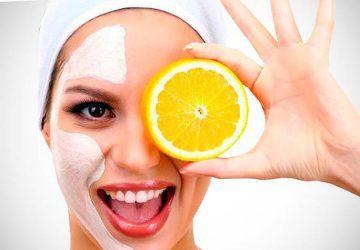mascarilla de naranja y yogur