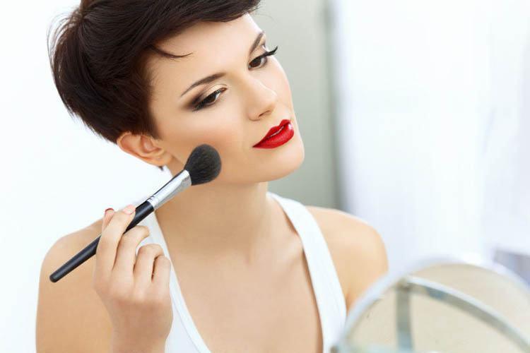 maquillaje para parecer delgada