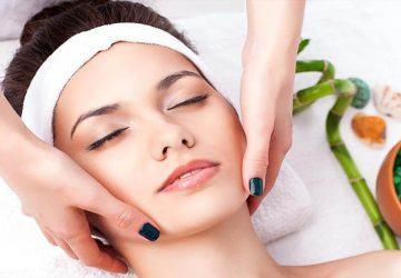 masaje facial antiarrugas