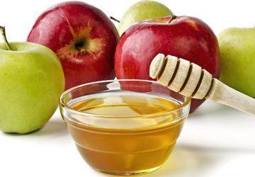 mascarilla de manzana para los poros abiertos
