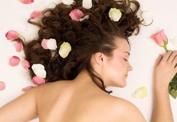 perfumar el cabello