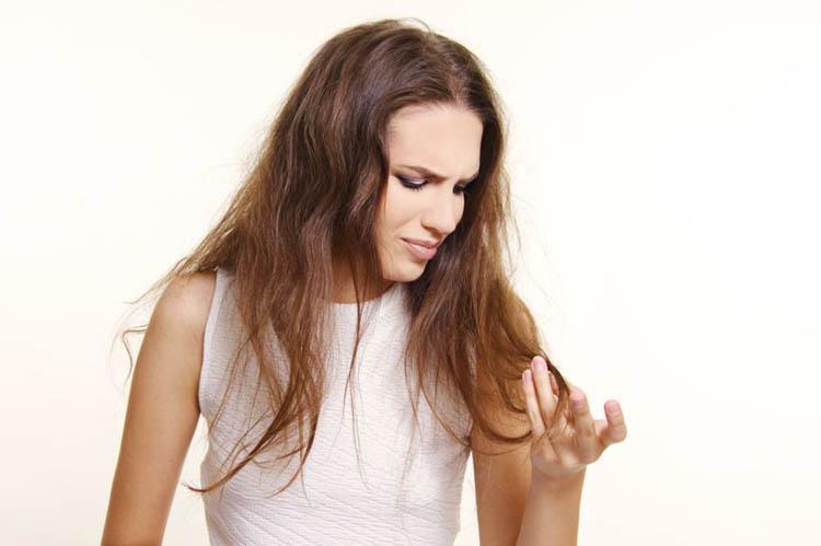 cuidar el cabello seco