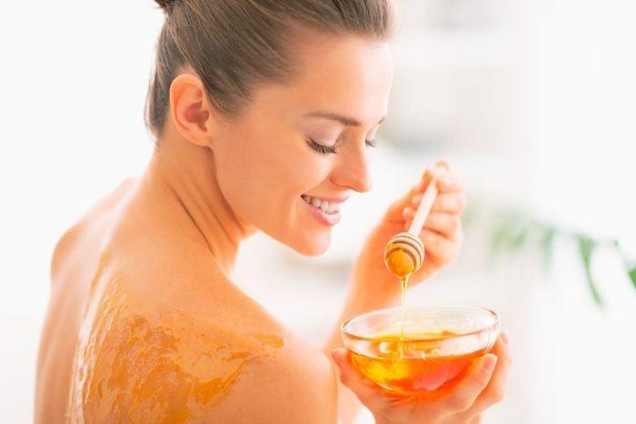 miel para el cuidado de la piel