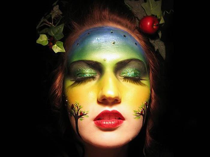 maquillaje madre tierra