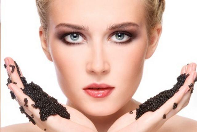 mascarilla de caviar