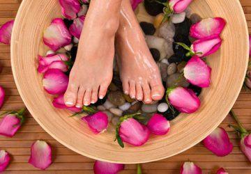pies suaves y bonitos