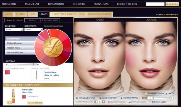 Maquillaje-virtual-Estee-Lauder