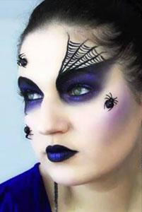 Maquillaje para Halloween: Spider Queen (Reina araña) - Somos Bellas