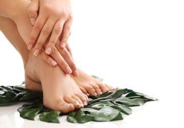 recetas naturales pies y manos