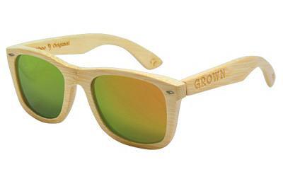gafas ray ban de madera