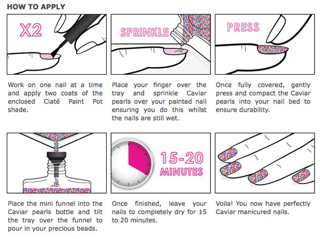 caviar-manicure