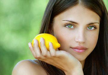 limón para blanquear la piel