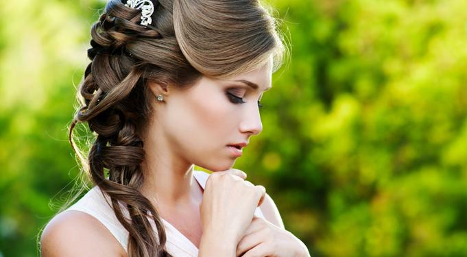Peinado de boda con trenza sirena peinado for Trenza boda