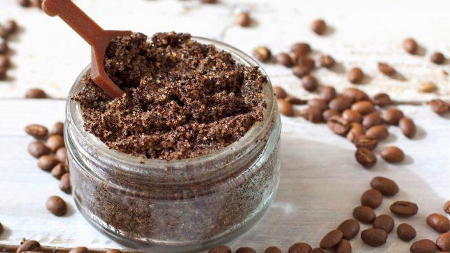 café para exfoliar la piel