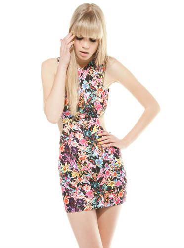vestidos-bershka-flores