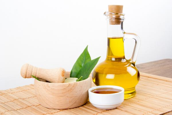 mascarilla de aceite de oliva y miel