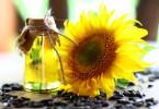 Aceite natural fresco