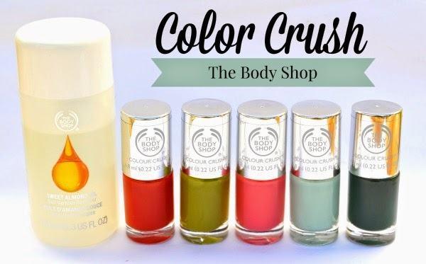 Esmaltes color crush