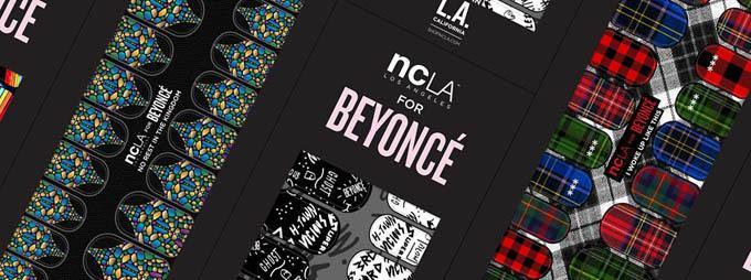 Beyoncé NCLA nail wraps