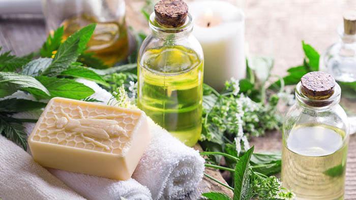 jabón antibacteriano aceite de árbol de té