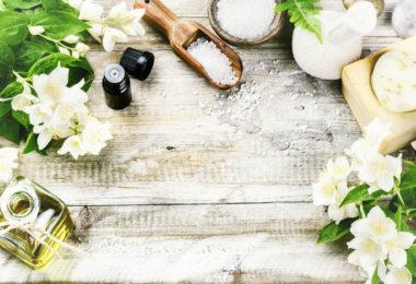 perfume casero de gardenias