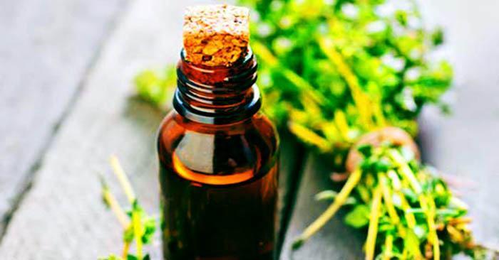 aceite de tomillo para las alergias