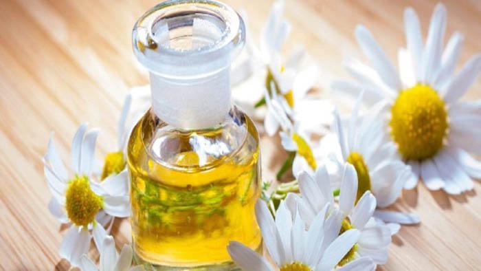 aceite de manzanilla para las alergias