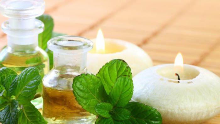 aceite esencial de menta para las alergias