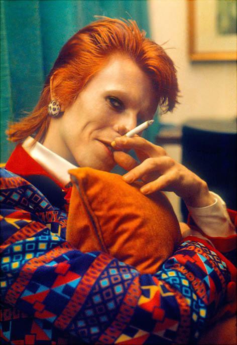 David Bowie Mullet