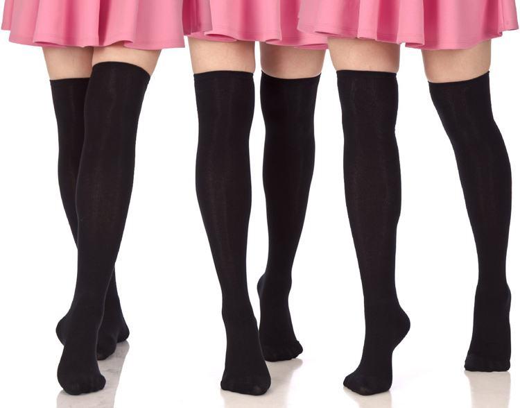 calcetines over knee