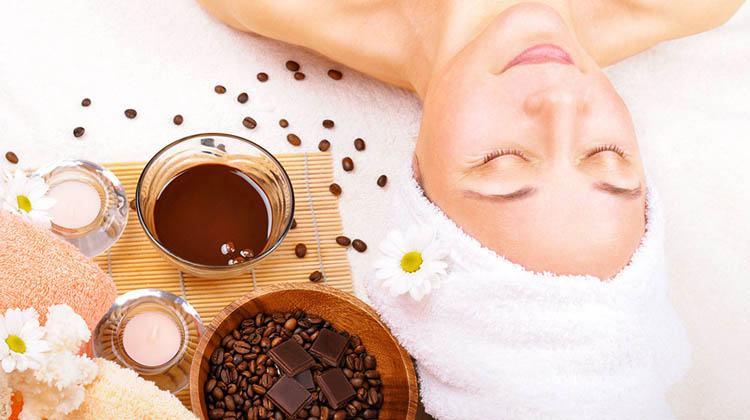 mascarilla de café y cacao