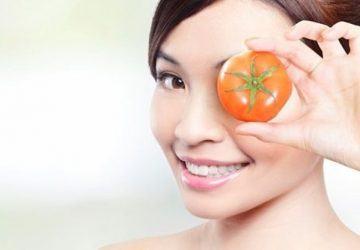 mascarilla exfoliante de tomate