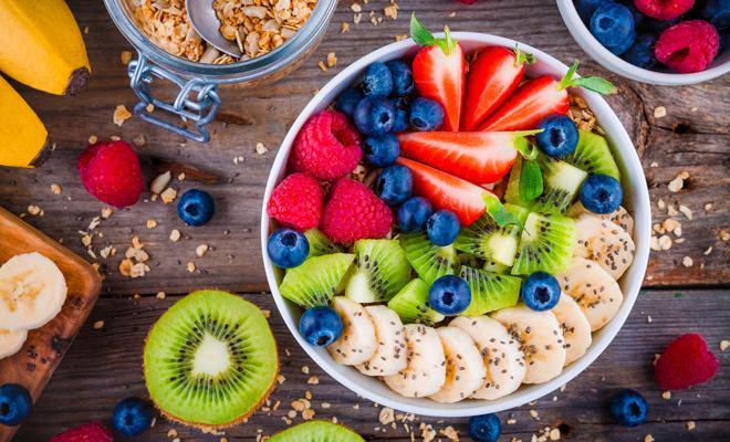 frutos del bosque en la dieta nórdica