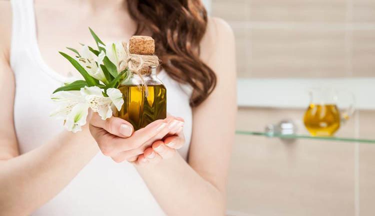 aceite de oliva para el cuidado de la piel