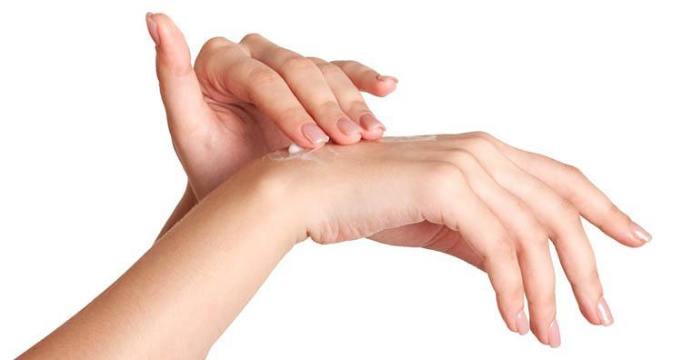 crema casera para las manos secas